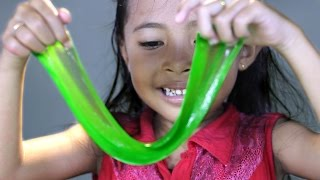 getlinkyoutube.com-Cara mudah membuat slime - how to make slime