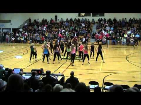 Green Bay Preble Dance Team Hip Hop 2013