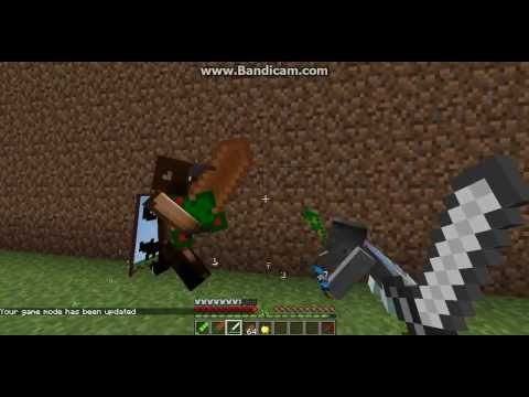 Minecraft mob battles minotaur boss vs gremlin shaman