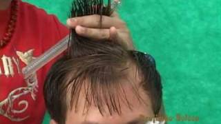 getlinkyoutube.com-corte de cabelo masculino social  {  COM SYLVIO RESENDE  }   !!!