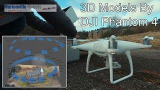getlinkyoutube.com-Creating 3D Model with Phantom 4, Photogrammetry Mapping. Agisoft PhotoScan
