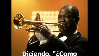 Wonderful World - Louis Armstrong (subtitulos español)