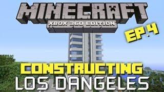 getlinkyoutube.com-Minecraft Xbox 360: Constructing  Los Dangeles! Episode 4! (Skyscraper!)