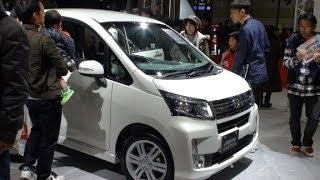 (HD)Osaka Motor Show 2013-Daihatsu Move Custom(大阪モーターショー)