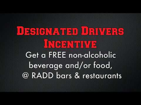 CSUSM RADD Designated Driver Program PSA