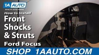 getlinkyoutube.com-How To Install Replace Front Shocks & Struts Ford Focus 00-05 1AAuto.com