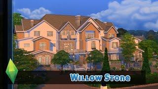 getlinkyoutube.com-Mein bisher größtes Haus für Eure Sims! - DIE SIMS 4 HAUSBAU - WILLOW STONE