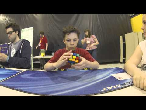 3x3 Competition Rubik's Cube NCR May 2013