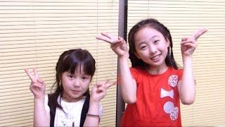 getlinkyoutube.com-本田望結・紗来 姉妹 「キヨミ・ソング ~X21~日本語バージョン」をカバー!!