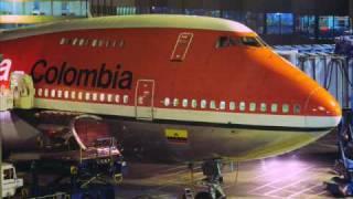 getlinkyoutube.com-Boeing 747  AVIANCA  1976 - 1995