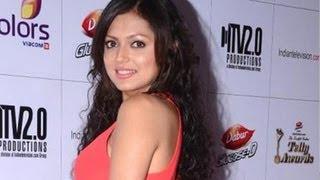 getlinkyoutube.com-'Madhubala' Actress Dhrasti Dhami @ 2013 Indian Telly Awards
