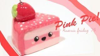 getlinkyoutube.com-◕‿‿◕Kawaii Friday 75- Strawberry Pie! -Tutorial in polymer clay