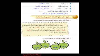 getlinkyoutube.com-حل كتاب لغتي الجميلة الصف الرابع ابتدائي - الفصل الدراسي الأول