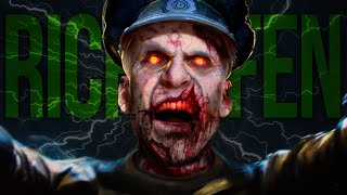 getlinkyoutube.com-Black Ops 3 Zombies Easter Egg: ZOMBIE RICHTOFEN (Shadows of Evil CoD BO3 Zombies Scary Easter Egg)