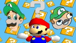 getlinkyoutube.com-Retarded64: We're going on a Luigi hunt