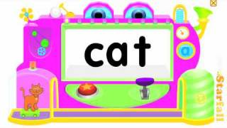 getlinkyoutube.com-Blending CVC words with Starfall (e.g., /c/a/t/ ): phoneme substitution, deletion, and blending