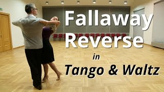 getlinkyoutube.com-Fallaway Reverse in Tango and Waltz | Ballroom Dance Figures