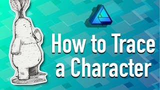 getlinkyoutube.com-How to Trace a Character in Affinity Designer