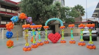 getlinkyoutube.com-Curso de decoraciones con globos - Decoraciones con globos