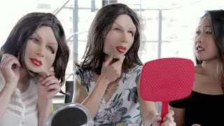 getlinkyoutube.com-Maybelline Introduces New Ideal-Woman Rubber Mask To Use In Place Of Makeup