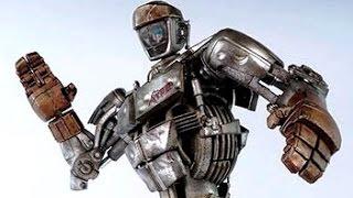getlinkyoutube.com-Real Steel WRB The Junkyart Bot - Atom VS UW II NEW ROBOT (Живая Сталь)