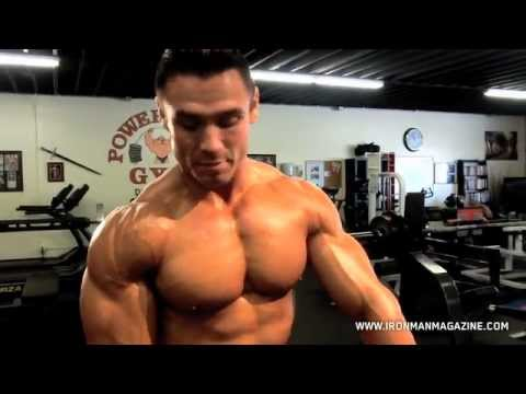 Shoulder Workouts IFBB Pro Matt Christianer Shoulder Training with Iron Man Magazine