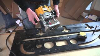 getlinkyoutube.com-Tommy's Trade Secrets - How to Mitre a Worktop using a Router & Jig
