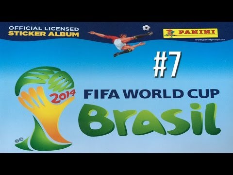 FIFA World Cup Brazil 2014 | Stickerbook Collection Ep7 - NEYMAR AND MORE!!