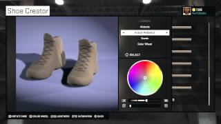 NBA 2k15 Shoe Creation! YEEZY BOOST FOR CHEAP!