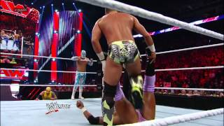 getlinkyoutube.com-Rey Mysterio, Sin Cara, Tyson Kidd & Justin Gabriel vs. The Prime Time Players, Epico & Primo - 8-Ma