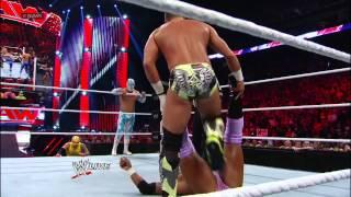 Rey Mysterio, Sin Cara, Tyson Kidd & Justin Gabriel vs. The Prime Time Players, Epico & Primo - 8-Ma