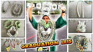 getlinkyoutube.com-My son's Graduation Money Leis!! | Candy Lei | Money Crown | BELT