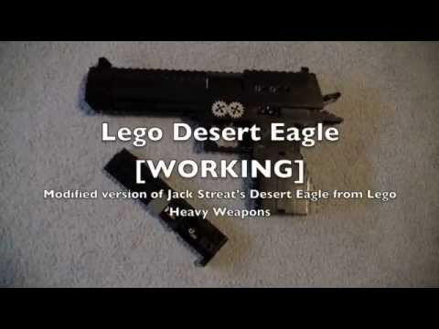 Lego Desert Eagle [WORKING] (Mod of Jack Streat's Desert Eagle from LHW)