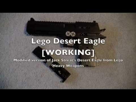 Lego Desert Eagle [WORKING] (Mod of Jack Streat's Desert Eagle from LHW)