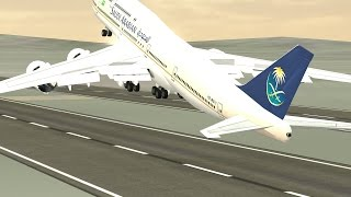 getlinkyoutube.com-Flight 787 - Advanced - Boeing 747-8i - [SAUDIA from Azerbaijan(UBBB) to Uzbekistan(UTNN)]