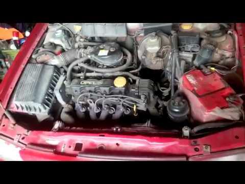 OPEL ASTRA F стук в двигателе ремонт