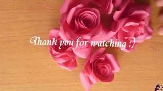 getlinkyoutube.com-membuat mawar dari kertas keren mudah
