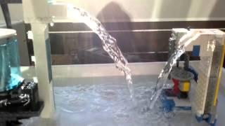 getlinkyoutube.com-Lego centrifugal water pump, high volume V2