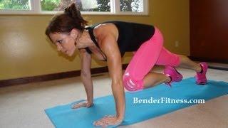 getlinkyoutube.com-15 Minute Cardio Sweat: HIIT Bodyweight Workout