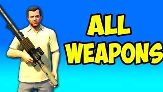 getlinkyoutube.com-GTA 5 Next Gen - All Weapons in First Person