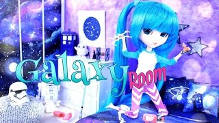 getlinkyoutube.com-DIY - How to Make: Doll Room in a  Box:  GALAXY Room - Pinterest - Handmade - Crafts