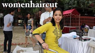 Open Air Haircut Series Epi # 8 (Blunt Haircut)