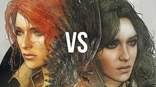 getlinkyoutube.com-Yen vs Triss. Gamers' love choices in The Witcher 3 [gamepressure.com]