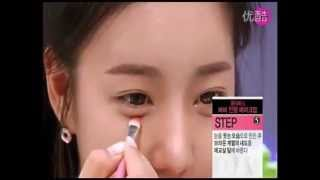 getlinkyoutube.com-韓國女孩最新化妝技巧-(芭比娃娃妝)-女生必看@@