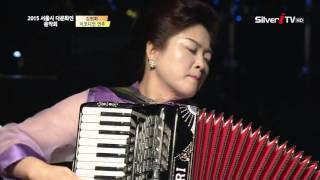 getlinkyoutube.com-용두산 엘레지,  꽃마차 (아코디언연주, 김헌희)