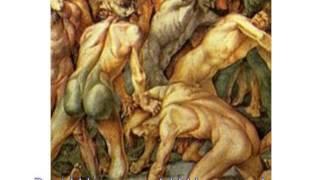 getlinkyoutube.com-1462+1351+ ミケランジェロの描いたダビンチはレプティリアンだったLeonardo, painted by Michelangelo was a Reptilian by Hiroshi Ha
