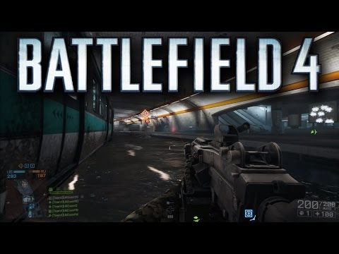 Battlefield 4 Operation Metro Conquest Gameplay - Second Assault Map and How It Plays! (Multiplayer)