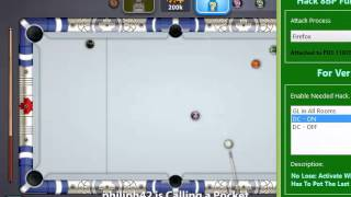 getlinkyoutube.com-Miniclip 8 Ball Pool GuideLine in No GuideLine Room and DC Hack