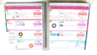 getlinkyoutube.com-Plan With Me | Erin Condren Horizontal Layout | August 3-9