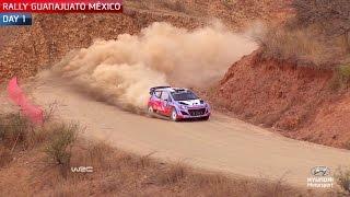 Rally Mexico Day One - Hyundai Motorsport 2015
